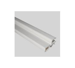 Profil charnière 4mm blanc