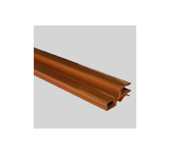 Profil charnière 4mm marron clair