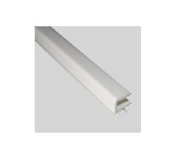 Profil encadrement 4mm blanc
