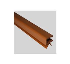 Profil encadrement 4mm marron clair