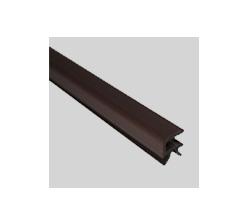 Profil encadrement 4mm marron foncé